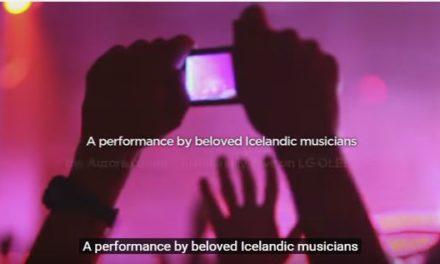 مشاهدة ظاهرة الشفق القطبي هذا الصيف في أيسلندا بفضل التقنية المتطورة لشاشات تلفزيونات ال جي