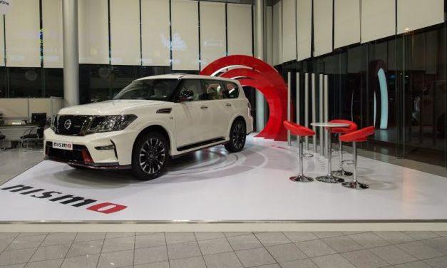 """""""نيسان"""" تطلق أول منصة عرض مخصصة لسيارات """"نيسمو"""" فى العالم لدى وكلاء مبيعاتها في الشرق الأوسط"""