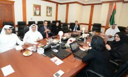 -وفد من دائرة مالية أبو ظبي يطلع على أفضل الممارسات الحكومية في حكومة دبي الكية