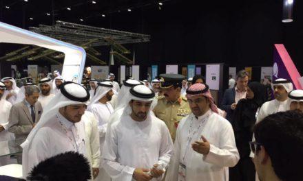 ولي عهد دبي يطلع على مشاركة  STCبجيتكس