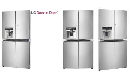 إل جي تطرح ثلاجاتها المتطورة بنظام الباب داخل الباب