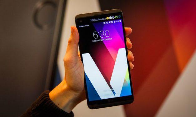 إل جي تواصل طرح أجهزة متقدمة ومتطورة آخرها هاتفها الذكي (V20)
