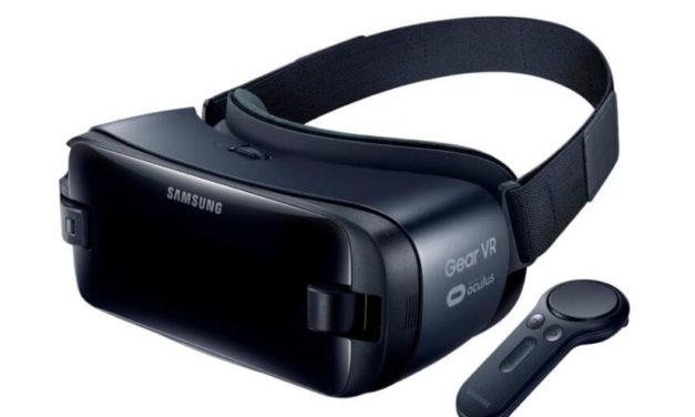 سامسونج تكشف عن إصدار جديد من نظارة جير في آر مع ذراع تحكم