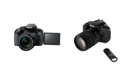 الجودة أولوية في كاميرتي كانون EOS 77D وEOS 800D الجديدتين بالعدسة الأحادية العاكسة الرقمية