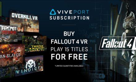 HTC Vive تطلق باقة بمناسبة توفير لعبة فول أوت 4 على جهازها VIVE