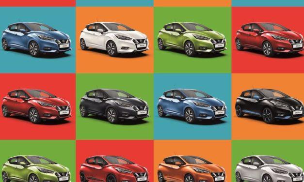 """دراسة لشركة """"نيسان"""" تظهر أن 86% من المشاركين يقودون سيارات لا تتناسب ألوانها مع شخصياتهم"""