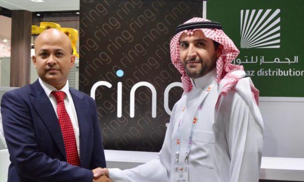 رينغ تعقد شراكة مع الجماز لتوزيع منتجاتها للأمن المنزلي الذكي في المملكة العربية السعودية