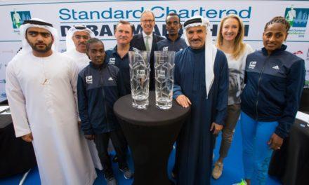 يستعد الأبطال الرياضيون من أجل للدفاع عن ألقابهم في ماراثون ستاندرد تشارترد دبي