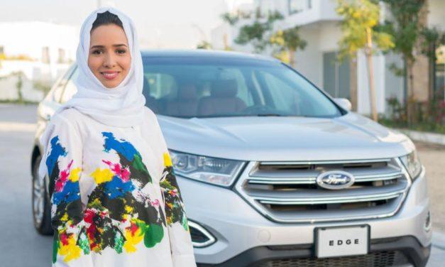 فورد وجامعة عفت يدفعان النساء على كتابة التاريخ في المملكة العربية السعوديّة من خلال دورة تعليم القيادة الآمنة